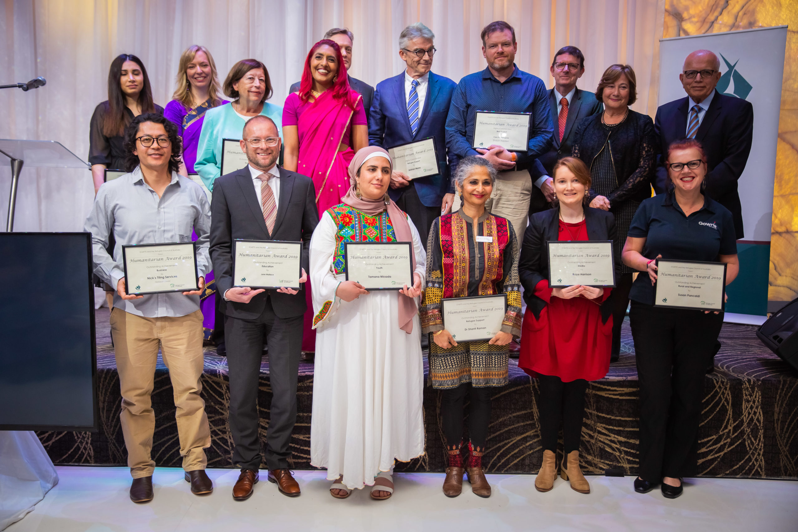 STARTTS Congratulates The 2019 NSW Humanitarian Award Winners With Refugee Council Of Australia