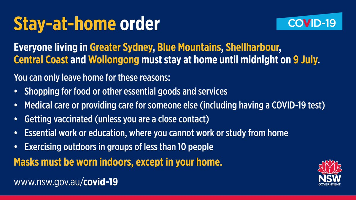 COVID-19 UPDATES: STARTTS Services During Stay At Home Orders (9 July)
