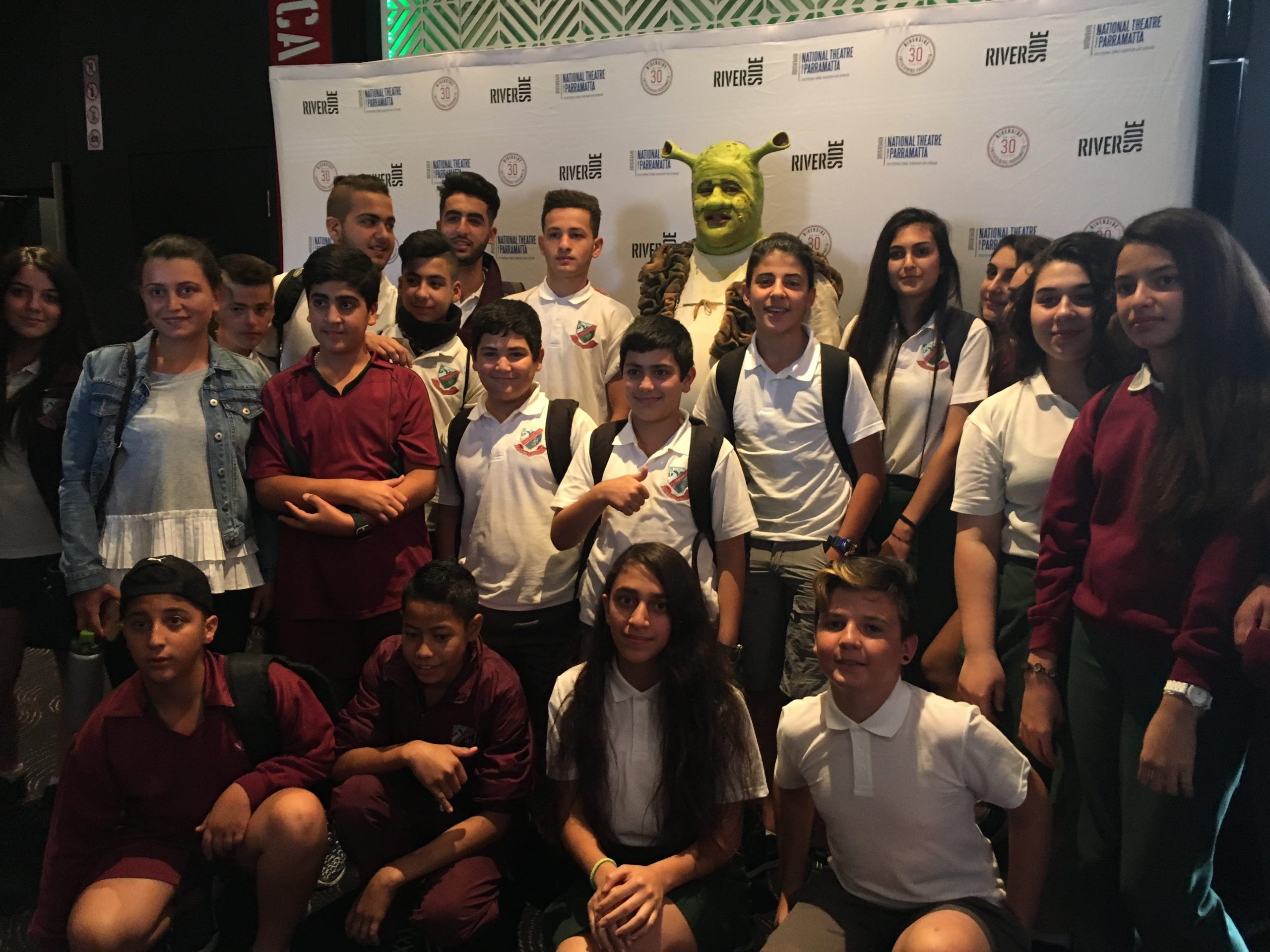A Big Day Out At Shrek The Musical Premiere