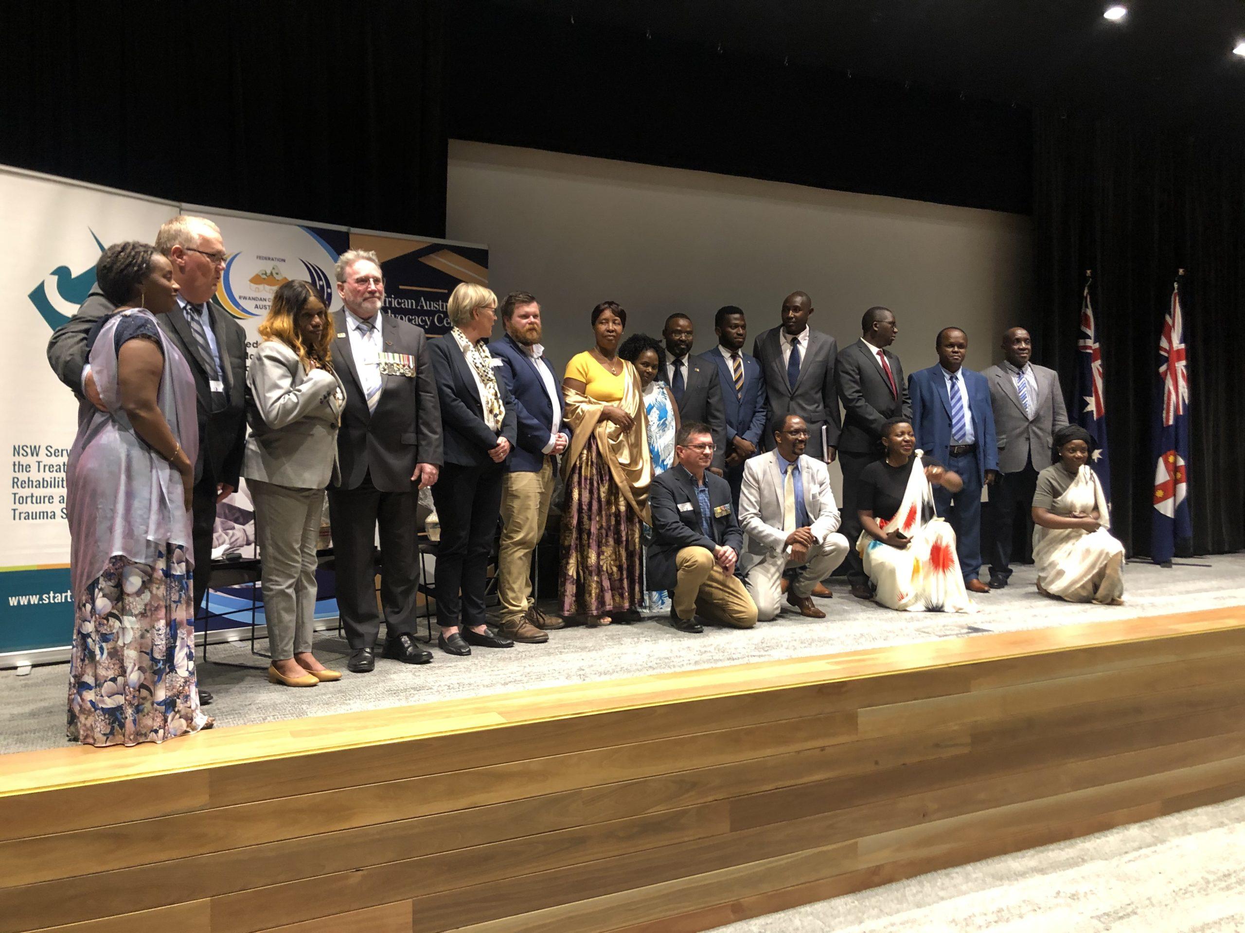 Australian Peacekeepers Honoured By Rwandan Community In Australia (Remembering Operation Tamar)