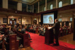 Lachlan Murdoch, STARTTS Deputy CEO, Addresses The Crowd