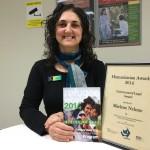 Marlene Nehme Humanitarian Award winner
