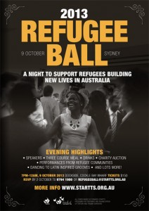 Download the Refugee Ball 2013 Poster