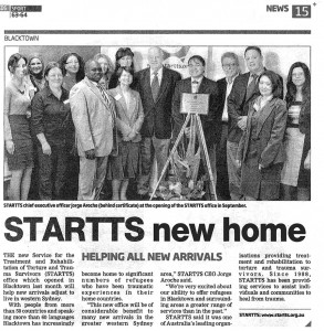 Blacktown Office Launch News Clipping